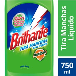 Alvejante sem cloro brilhante 750ml bleaching