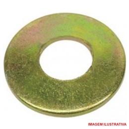 Arruela de aço para cabeçote 10.5 X 21 X 2.5 Pacote com 100 peças