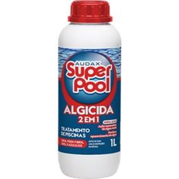 Algicida 2 em 1 para Piscinas 1 Litro Audax Super Pool