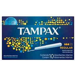 Absorvente interno tampax c/10 regular