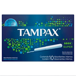 Absorvente interno tampax c/10 super