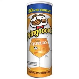 Batata Pringles Queijo Leve 155g Pague 128g Pack Promocional (Emb. contém 1un. de 155g)