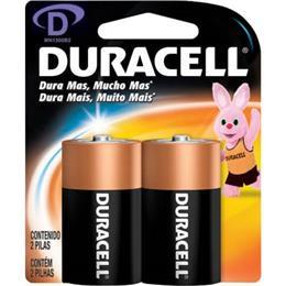 Pilha Duracell Alcalina D Grande (Emb. contém 2un.)