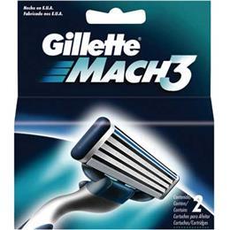 Carga Mach3 Gillette (Emb. contém 1 Cartela com 2un.)