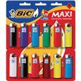 Isqueiro BIC Maxi (Emb. contém 1 Cartela com 12un.)