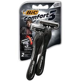 Aparelho de Barbear Comfort 3 Black Night (Emb. contém 12 Cartelas com 2un. cada)