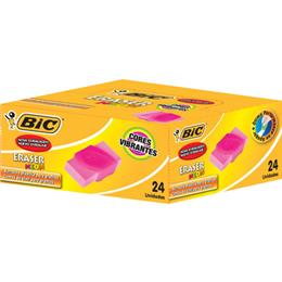 Borracha BIC Neon Cores Sortidas (Emb. contém 24un.)