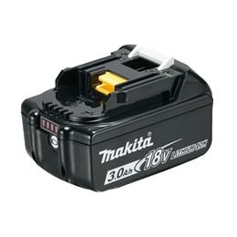 Bateria de Lítio 18v com indicador de carga BL1830B 3.0 Ah- Makita