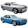 Carrinho Maisto Dodge Challenger Referência: 31280, Azul (Emb. contém 1un.)