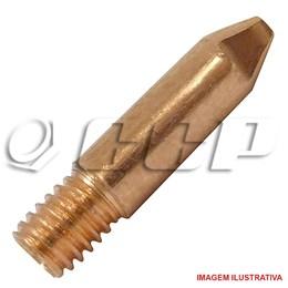 Bico de contato 0.9 mm rosca m 6 para tocha mig