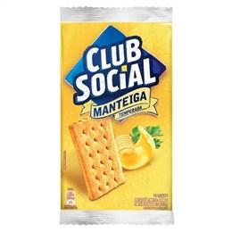 Biscoito  Clube Social Manteiga  (Emb. contém 44 Pacotes com 6un. de 23,5g cada)