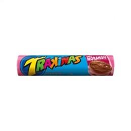 Biscoito Trakinas Morango (Emb. contém 54un. de 126g cada)