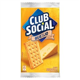 Biscoito Clube Social Queijo (Emb. contém 44 Pacotes com 6un. de 23,5g cada)