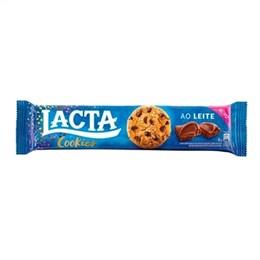 Biscoito Cookies Lacta Shot (Emb. contém 30un. de 80g cada)