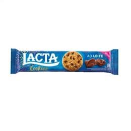 Biscoito Cookies Lacta Ao Leite (Emb. contém 30un. de 80g cada)