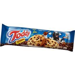 Biscoito Toddy Cookies Baunilha com Gotas Chocolate (Emb. contém 64un. de 60g cada)