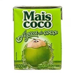 Água de Coco Mais Coco Tetra Pack (Emb. contém 24un. de 200ml cada)