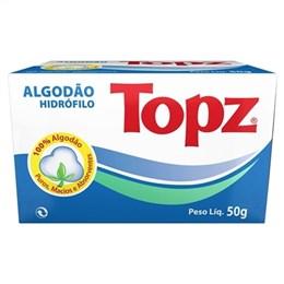 Algodão Farmaceutico Topz Rolo (Emb. contém 24un. de 50g cada)