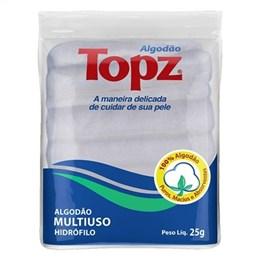 Algodão Farmaceutico Topz Zig-Zag (Emb. contém 60un. de 25g cada)