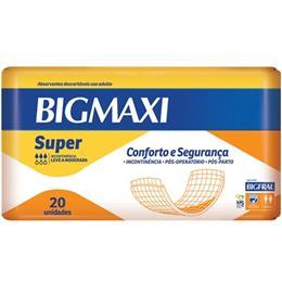 Absorvente Bigmaxi Super Adulto (Emb. contém 8 Pacotes com 20un. de cada)