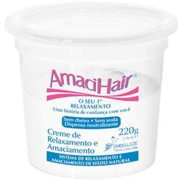 Alisante em Creme Amacihair Tradicional Baldinho (Emb. contém 6un. de 200g cada)
