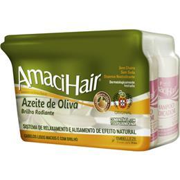 Alisante em Creme Amacihair Azeite de Oliva Baldinho (Emb. contém 6un. de 220g cada)
