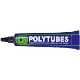 Adesivo Cola PVC Polytubes Pulvitec (Emb. contém 48un. de 17g cada)
