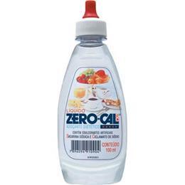 Adoçante Zero-Cal Sacarina Líquido (Emb. contém 12un. de 100ml cada)
