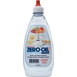 Adoçante Zero-Cal Sacarina Líquido (Emb. contém 12un. de 200ml de cada)