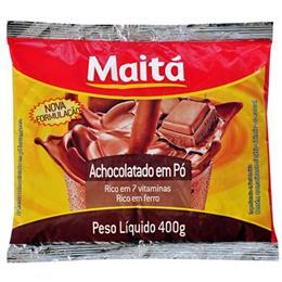 Achocolatado Maitá Aluminizado (Emb. contém 24un. de 400g cada)