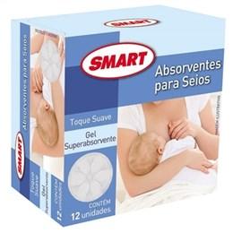 Absorvente para Seios Smart (Emb. contém 12 Pacotes com 12un. cada)