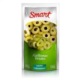 Azeitona Smart Verde Fatiada Sachê (Emb. contém 18un. de 120g cada)