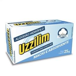 Algodão Uzzilin Hidrofilo (Emb. contém 24un. de 25g cada)