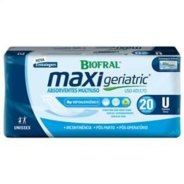 Absorvente Biofral Tena Multiuso Maxi Geriatric (Emb. contém 8 Pacotes com 20un. de cada)