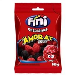 Bala Fini Gelatina Amora (Emb. contém 12un. de 100g cada)
