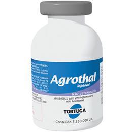 Agrothal Antibiótico/Anti-inflamatório Tortuga 5.350.000 UI (Emb. contém 6un. de 15ml cada)