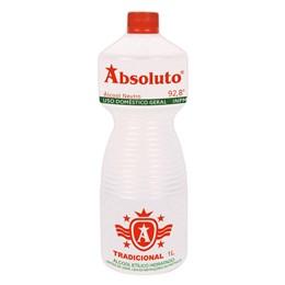 Álcool 92.8 Inpm Liquido Absoluto 1 Litro