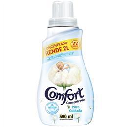 Amaciante Comfort   Concentrado Puro Cuidado (Emb. contém 12un. de 500ml cada)