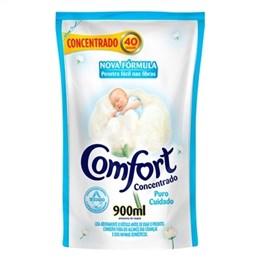 Amaciante  Comfort Concentrado Puro Cuidado Sachê (Emb. contém 12un. de 900ml)
