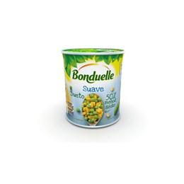 Ervilha e milho em lata bonduelle 200g suave