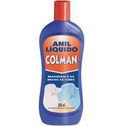 Anil Líquido (Emb. contém 24un. de 200ml cada) - Colman