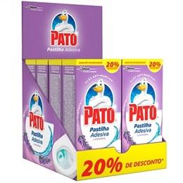 Pastilha Adesiva Pato Lavanda 20% Desconto Display (Emb. contém 8 Pacotes com 3un. de cada)