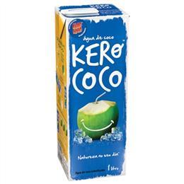 Água de Coco Kero Coco  Tetra Pack (Emb. contém 12un. de 1 Litro cada)