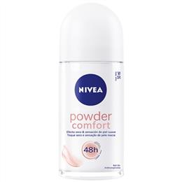 Desodorante Nivea Roll- ON Feminino Powder (Emb. contém 1un. de 50ml)