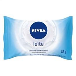 Sabonete Nivea Hidratante Proteínas do Leite (Emb. contém 12un. de 85g cada)