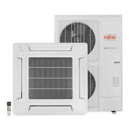 Ar Condicionado Split Inverter Cassete 42000 Btus Quente e Frio 380v Trifásico Fujitsu AUBG45LRLA PRINVK7442Q4FU0