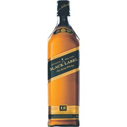 Whisky Importado Johnnie Walker Black Label 12 Anos (Emb. contém 1un. de 1 Litro)