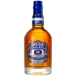 Whisky Importado Chivas Regal 18 anos (Emb. contém 1un. de 750ml)