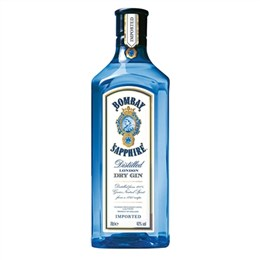 Gin Importado Bombay Saphire (Emb. contém 1un. de 750ml) - Bacardi