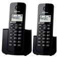 Telefone Fixo sem Fio Panasonic KXTGB112LBB Dect 6.0 Identificador de Chamadas Agenda Preto (Emb. contém 1un.)